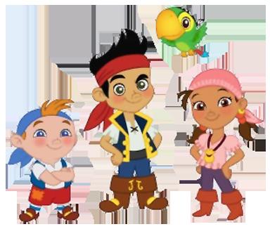Sombrero de Jake el Pirata para armar | Todo Peques