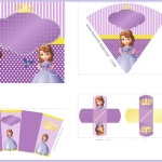 Decoración de Princesa Sofía: Kit imprimible gratis