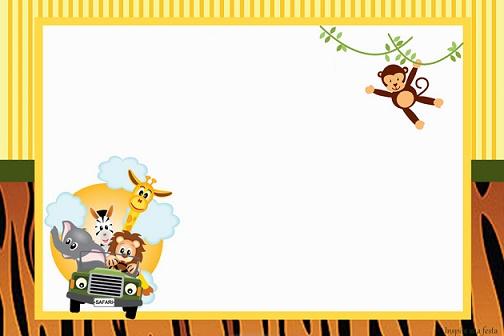 Kit de Safari para imprimir gratis   Todo Peques