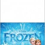 Tarjetitas Frozen para imprimir gratis