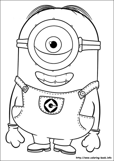 losminions coloring pages