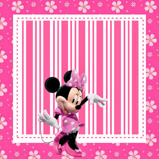 Kit digital de Minnie Rosa para descargar gratis