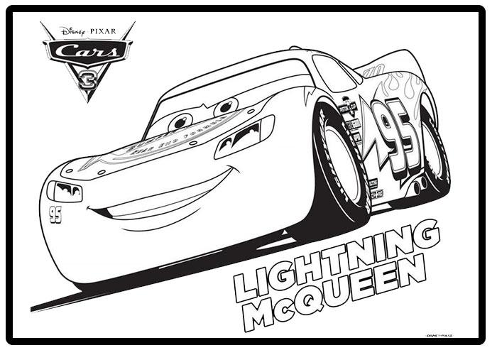 Dibujos para colorear personajes de Cars | Todo Peques