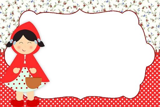 Kit Imprimible De Caperucita Roja Para Descargar Gratis