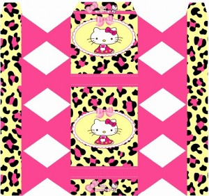 Caja bala Hello Kitty