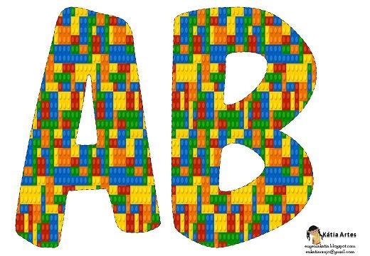 Letras abecedario de lego para imprimir y decorar todo - Letras de nombres para decorar ...