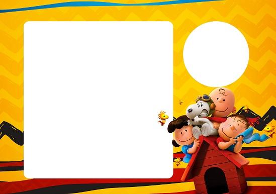 Kit imprimible de SNoopy - Candy Bar Snoopy - Imprimibles Snoopy para cumpleaños -