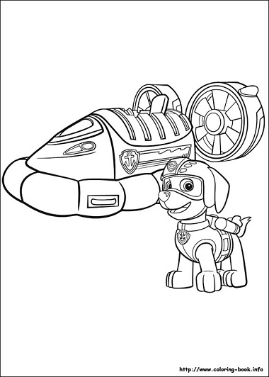 Dibujos De Paw Patrol Para Colorear Todo Peques